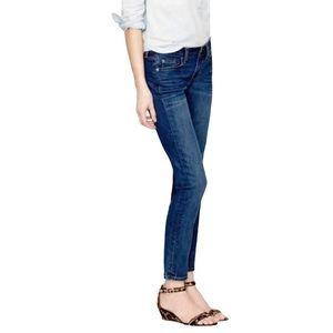 J. CREW Matchstick Blue Jeans 30R Boyfriend